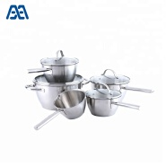 Good quality stainless steel casserole/ saucepan/ cookware set