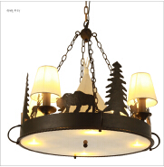 Rustic Lighting and Lodge Lighting fixtures American antique