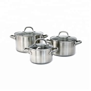 Top Selling Stainless Steel Pot And Pan Cooking Set