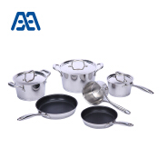 Wholesale professional cooking pot cookware set