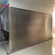 Anti-oxidation Stainless Steel Rolling Shutter Door