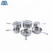 Hot selling germany stainless steel cookware set