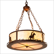 Rustic Lighting for the Log Cabin Home American lodge lifestyle lighting decoration