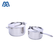 Daily using soup pot stainless steel cookware set