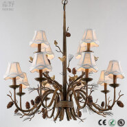 American Country Style Chandeliers industrial pendant lamp of modern pendant lamps
