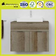 PB materials modern washing room pvc bathroom cabinet