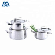 Best Quality Cooking Pot Stainless Steel Casserole Set