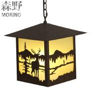 Loft Vintage Hanging Lamp Pendant, Antique Iron Chandelier Pendant Light