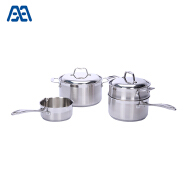 Food grade stainless steel induction cookware set