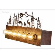 Bear Family 6 light Bathroom Vanity Mirror Light Bulbs