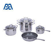 Professional household stainless steel cookware set