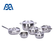 High quality stainless steel induction cookware set