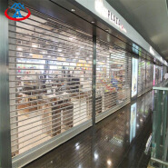 Commercial Automatic Transparent Polycarbonate Roll Up Door