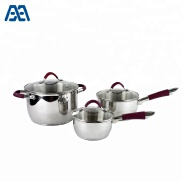 Multifunction kitchen set cooking pots stainless steel cookware