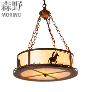 Hot selling hollow creative iron hanging pendant chandelier