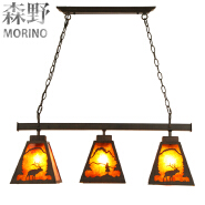 2018 Energy Saving Light Source and Iron Material Chandelier