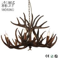 Modern black chandelier lamp Retro pendant lighting