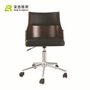 New Soft Cushion Plywood Wheels Restaurant Chairs