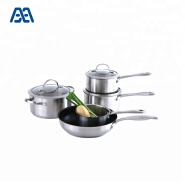 Most popular non stick pan stainless steel cookware set
