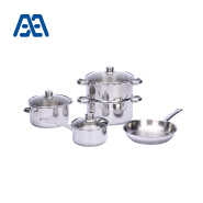 Better Quality Induction Bottom Better Quality Induction Bottom Stainless Steel Cookware Set