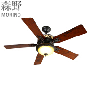 Ceiling Fans Item Type and iron Lamp Body Material Ceiling fan light