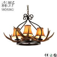 Antler hanging led modern pendant light for chinese restaurant decoration