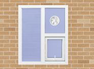 Hot Product Highest Quality Simple Style UPVC titl-turn Windows U-K001