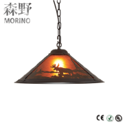 Egyptian style rustic lighting pendants office hanging light lamps