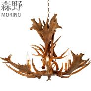 American rural countryside antler chandeliers,Living room,Bar,Cafe, Dining room pedant light