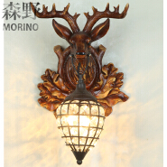 American country vintage classic design indoor wall led lamp