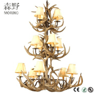 Wholesaler American style wireless remote control chandelier for weddings