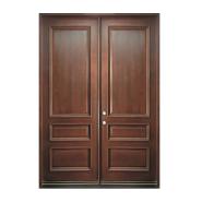 Yekalon Hot Quality Fashionable Design Solid Wood Entrance Door (PD-202)