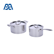 Professional design stainless steel soup pot set