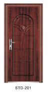 Yekalon Modern security door steel door,Metal Door, Iron Entrance Door STD-201