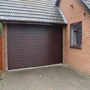 Customized Remote Control Electric Automatic Aluminum Garage Door