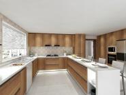 Best Seller Elegant Top Quality Personalized Design MFC kitchen
