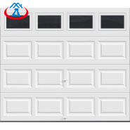 Finished surface and open style automatic aluminum garage doors from Guangzhou