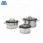 Professional manufacturer outdoor camping cooking pot cookware set
