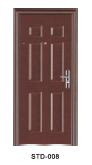 Yeakalon SDF-008 Frosted Heat Transfer Series Modern Best-selling Steel Security Door