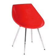 Modern cheap kitchen designs ABS Dining bar stool high chair