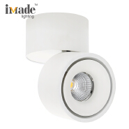 New product commercial lighting cob round adjustable surface mounted led downlights CE