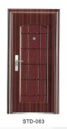 Yekalon Modern security door steel door,Metal Door, Iron Entrance Door STD-063