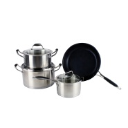 New design fry pan/ food cooking pot/ cookware set