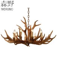 8 light chain chandelier antler chandelier for sale for living room