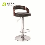 new arrival swivel wooden leather workshop chair