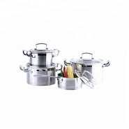 Professional Production Stainless Steel Cookware Set