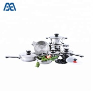 Multifunction stainless steel kitchenware cookware set