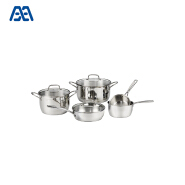 Heat resistant stainless steel noodle cooking pot cookware set