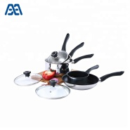 2018 Hot selling non stick cookware saucepan set