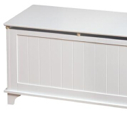 simple design white color with CNC line wooden kid's storage toy boxes cabinet